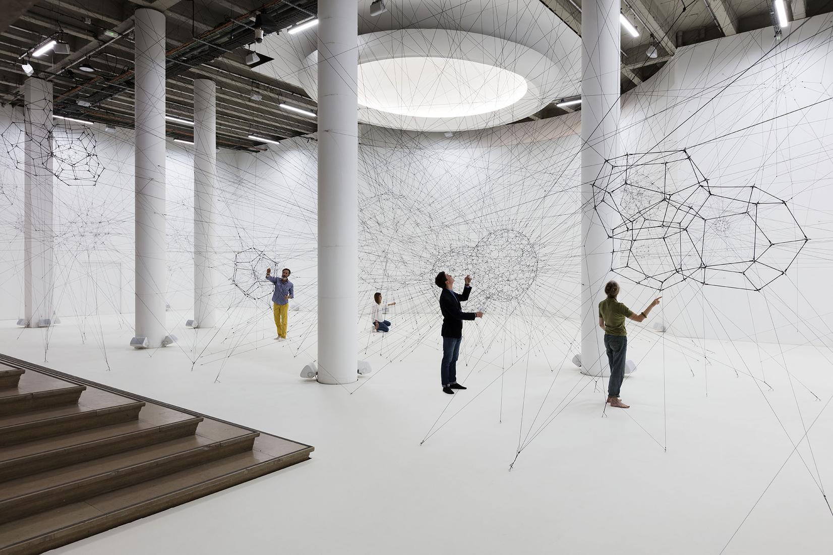 October 15, 2018 - January 6, 2019 - Palais de Tokyo, Paris - Tomás Saraceno: ON AIR - Exhibitions