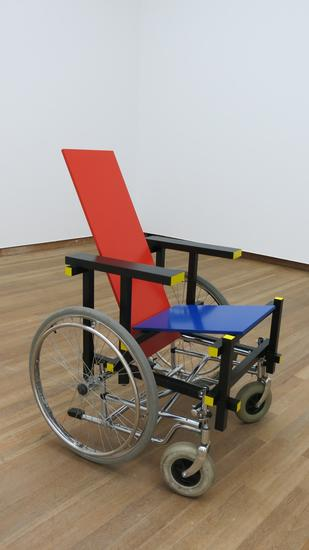 Laura Lima Rietveld Wheelchair 2014 wood, metal ph...