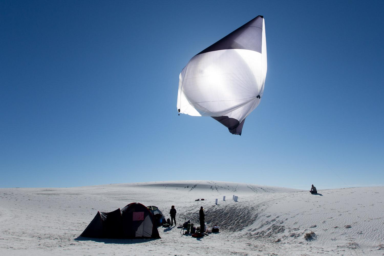 Tomás Saraceno Aerocene, launches at White...