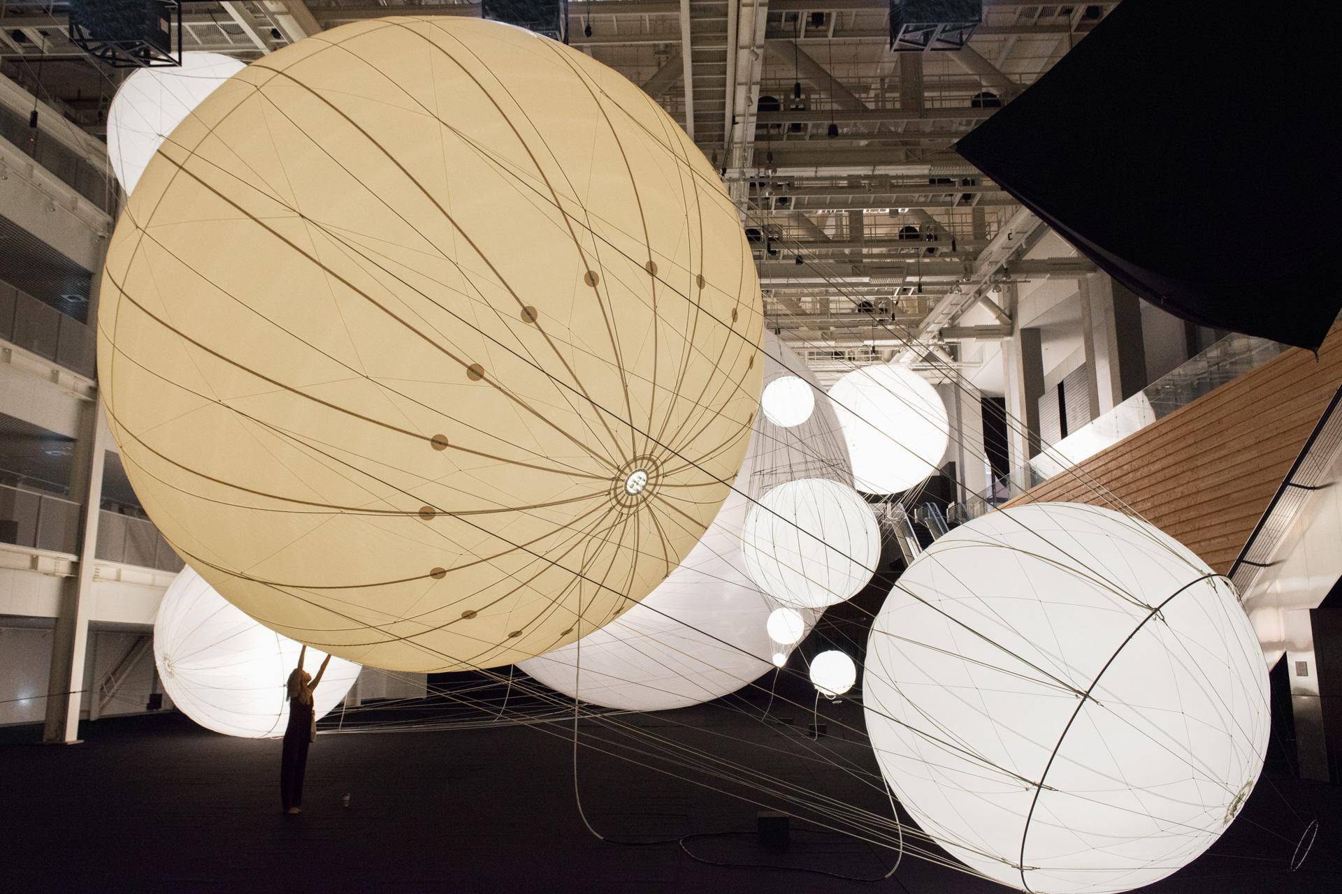 Installation view, Our Interplanetary Bodies, ACC...