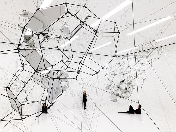 TOMÁS SARACENO: STILLNESS IN MOTION - CLOUD CITIES - Exhibitions