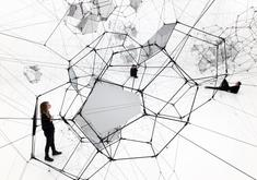 "Tomás Saraceno: Building ""future flying cities�..."