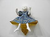 Peggy PREHEIM Blue 1991/2004 white clay, antique d...