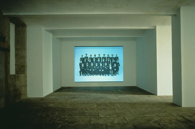 GILLIAN WEARING Sixty Minute Silence 1996 colour v...