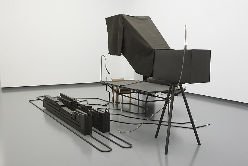 Mark Manders Chair/ Staged Android (Reduced to 88%...