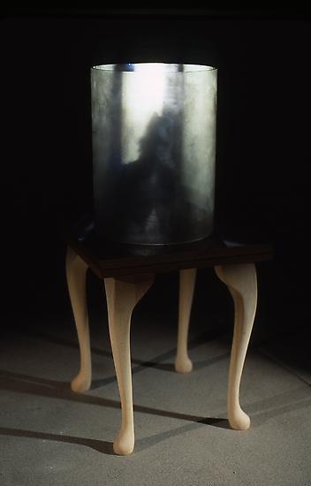 Mat COLLISHAW My New Kitten 1996 Wood table, acryl...