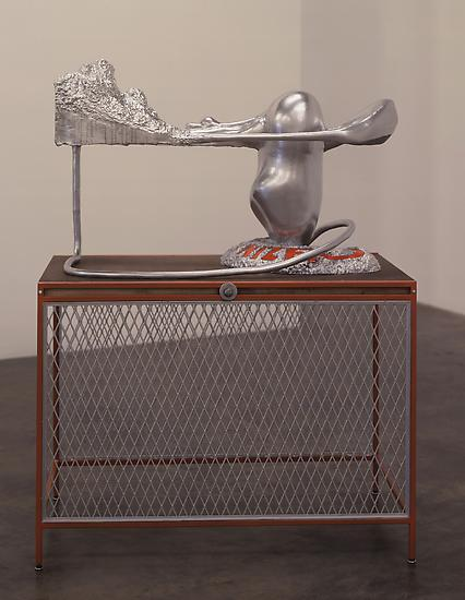 Charles LONG The Organizer 1996 Enamel over plaste...