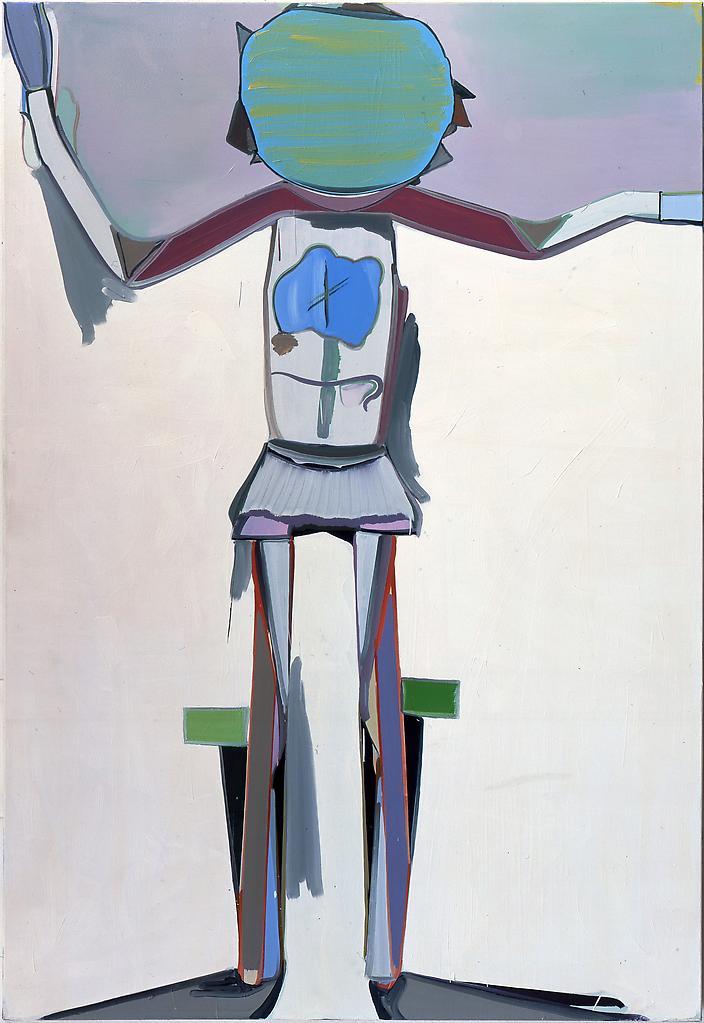 Thomas SCHEIBITZ St. Johann 1998-99 Oil on canvas...