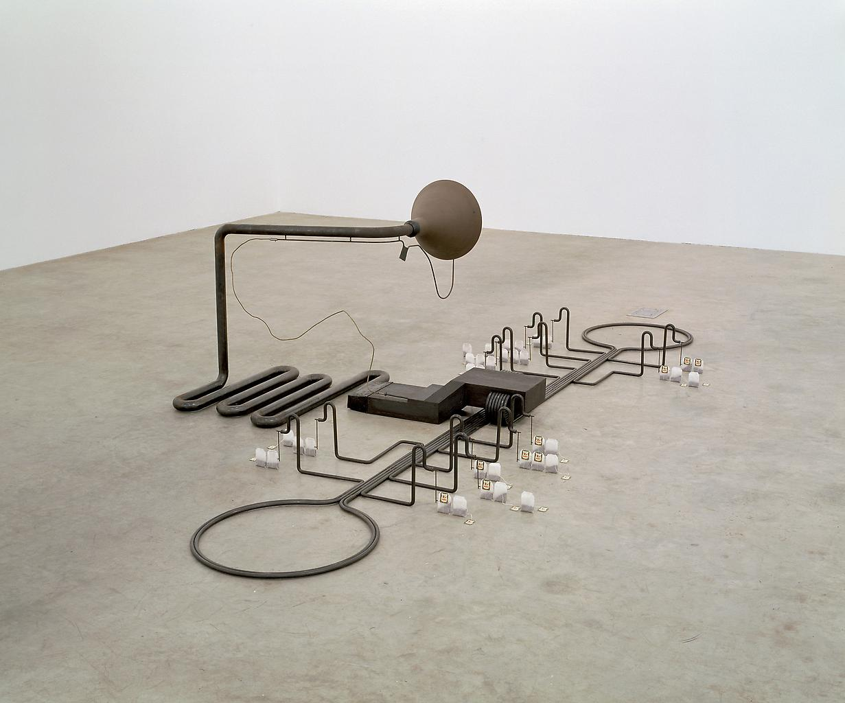 Mark Manders Finished Sentence 1998-2006 iron, cer...