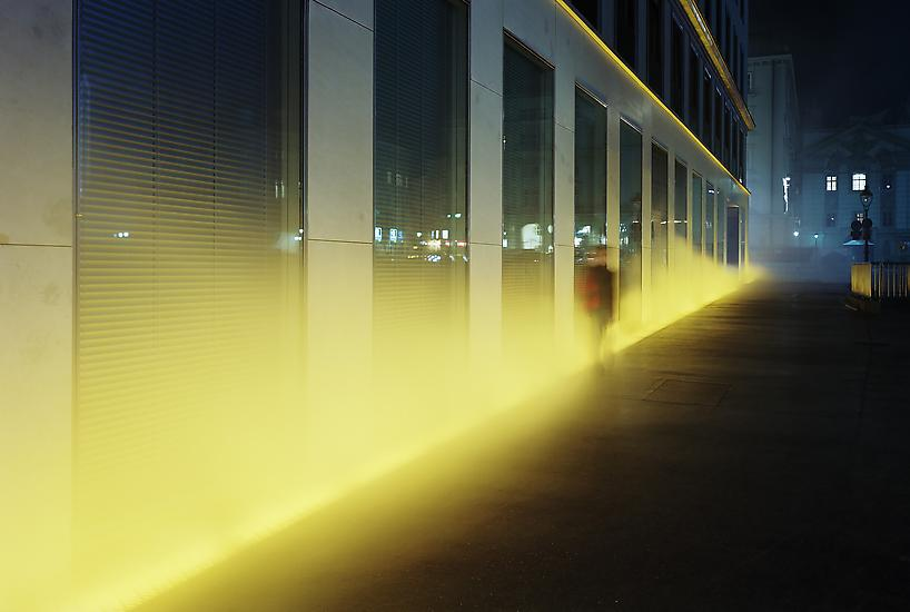 Olafur Eliasson Yellow fog 1998/2008 fog machine,...