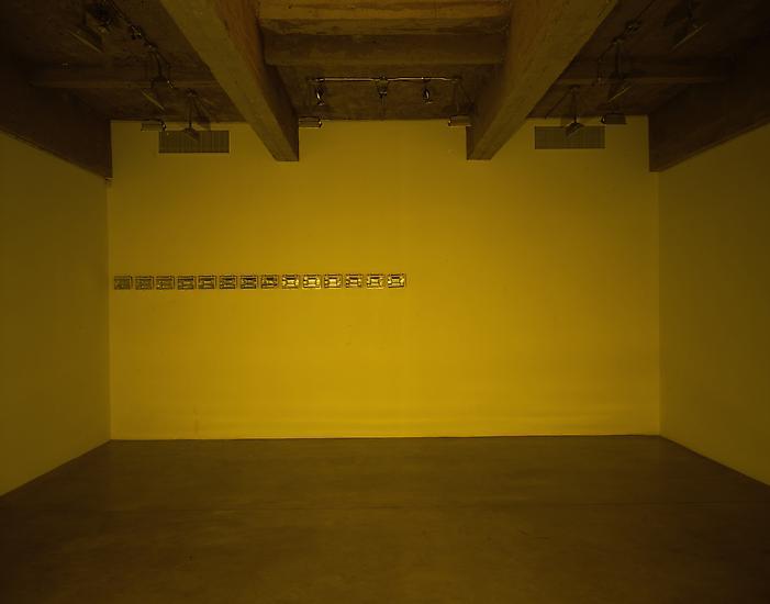 Olafur ELIASSON Your inverted veto 1998 Yellow mon...