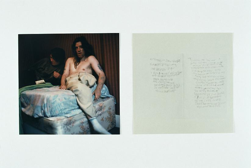 GILLIAN WEARING Theresa and Chris 1998 c-type colo...