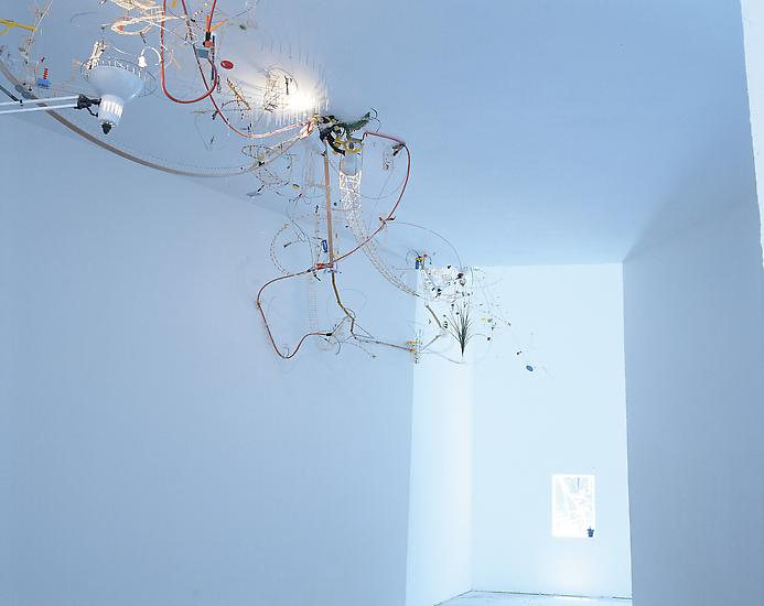 Sarah Sze Capricious Invention of Prisons 1999 mix...