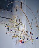 Sarah Sze Seamless 1999 mixed media dimensions var...