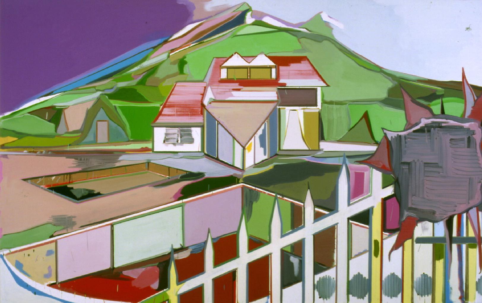 Thomas SCHEIBITZ Set (No. 246) 1999 Oil on canvas&...
