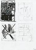 Thomas SCHEIBITZ Untitled 2000 Marker, india ink a...