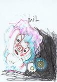Thomas SCHEIBITZ Untitled Side A 2001 marker, pen...