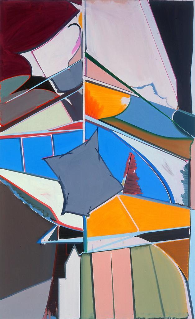 Thomas SCHEIBITZ Page 2000 Oil on canvas 93 1/2 x...