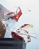 Sarah Sze Things Fall Apart 2001 mixed media dimen...