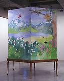 Mat COLLISHAW Milk and Honey 2001 acrylic on wood,...