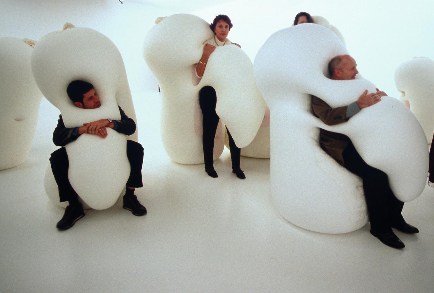 Ernesto Neto Humanoids Family 2001 polyamide fabri...