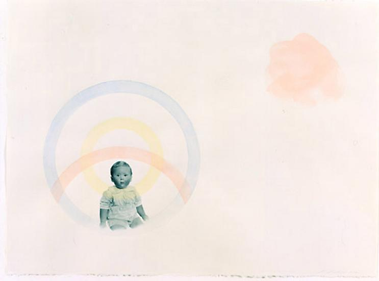 Peggy PREHEIM 0.0 2002 pencil and watercolor on pa...