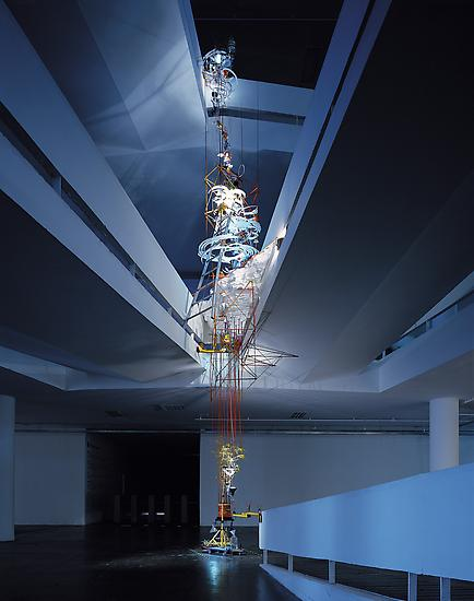 Sarah Sze Everything in its Right Place 2002 mixed...