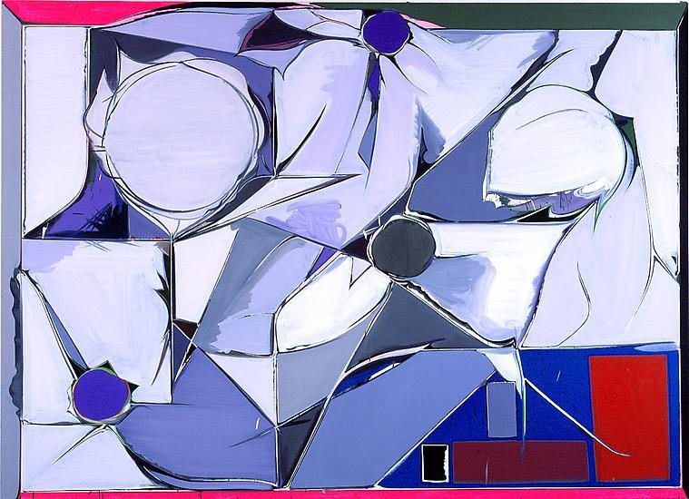 Thomas SCHEIBITZ O.T. (Nr. 342) 2002 oil, pigment...
