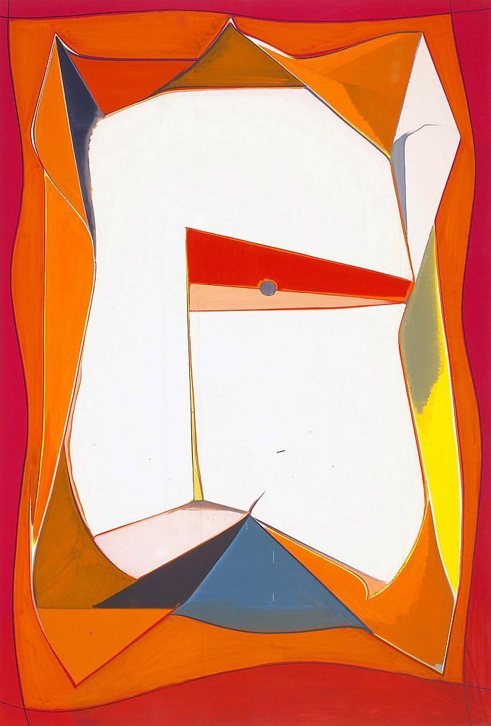 Thomas SCHEIBITZ Schlacht 2003 Oil on canvas...