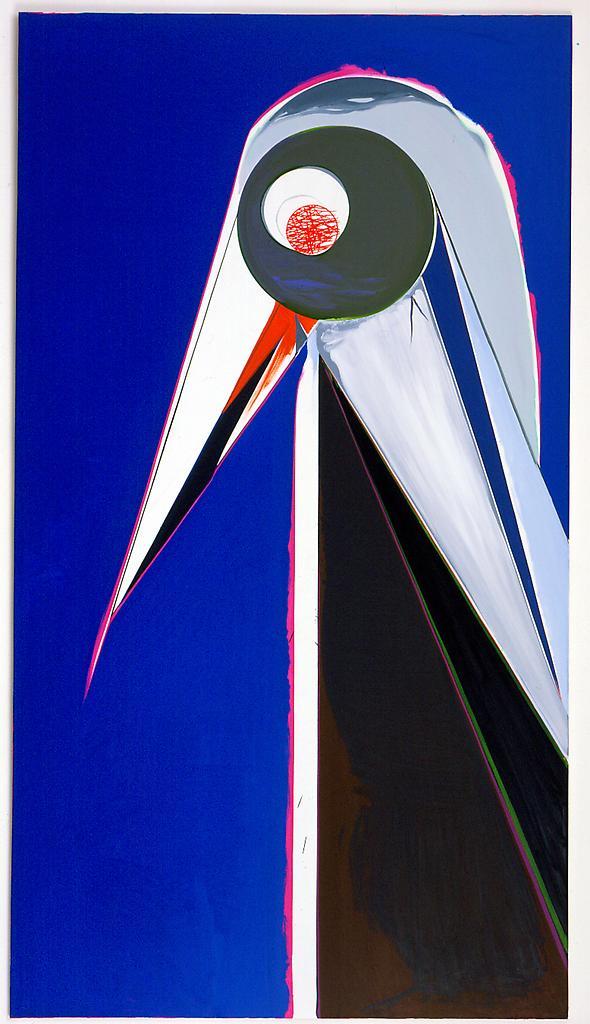 Thomas SCHEIBITZ Vogel 2003 Oil on canvas 117 1/3...