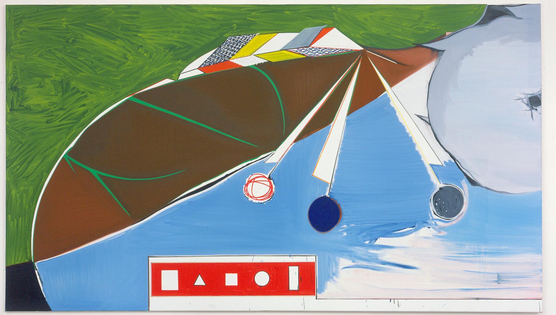 Thomas SCHEIBITZ Stilleben 2003 Oil on canvas 145...