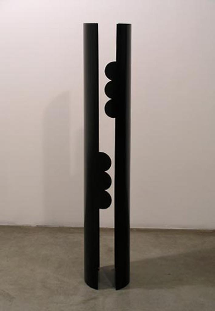 Nicole WERMERS Untitled II 2003 lacquered steel 65...