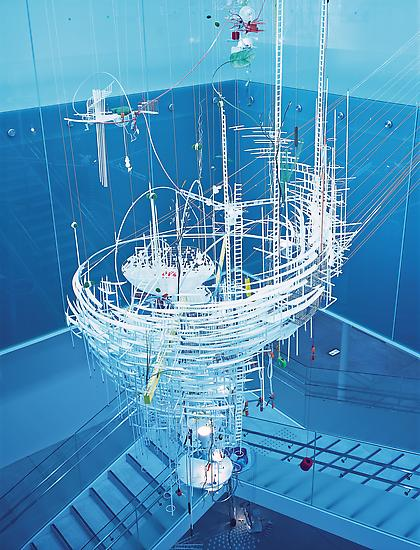 Sarah Sze The Art of Losing 2004 mixed media dimen...