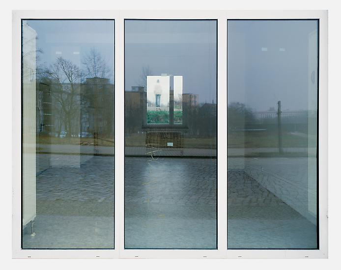 Sabine HORNIG Rear Window 2004 C-print mounted beh...