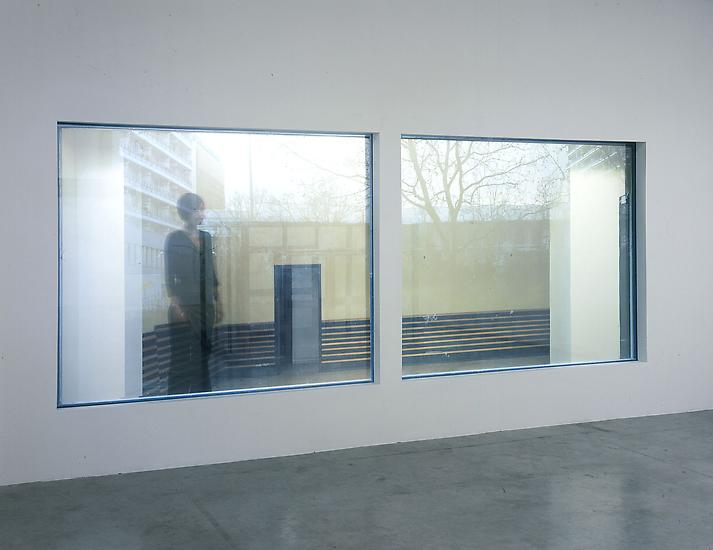 Sabine HORNIG Schulfenster/School Window 2004 2 tr...