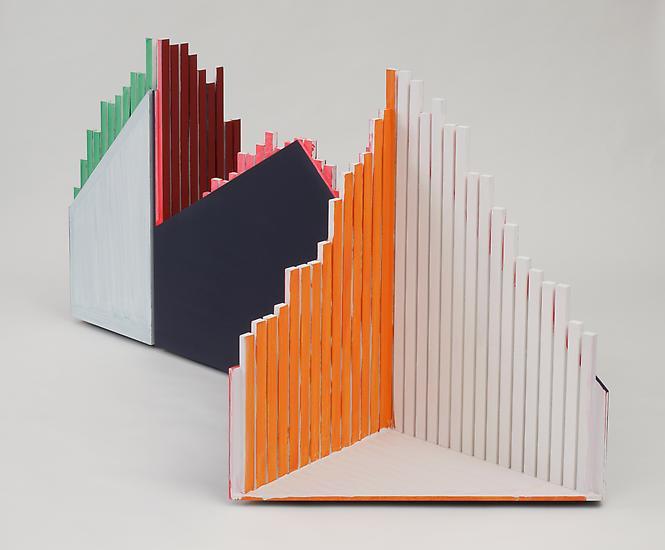 Thomas SCHEIBITZ Statistic 2004 Wood, MDF, vinyl a...