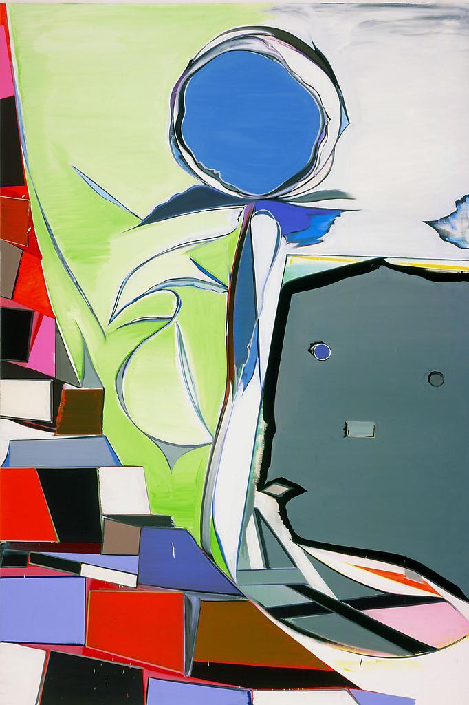 Thomas SCHEIBITZ IDEAL 2004 Oil on canvas 117 3/8...