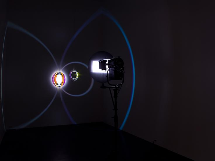 Olafur Eliasson Colour space embracer 2005 Metal,...