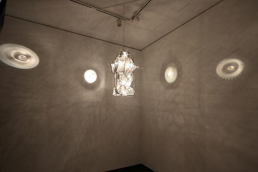 Charles LONG S.O.L.I. 2005 steel, mesh, light, len...