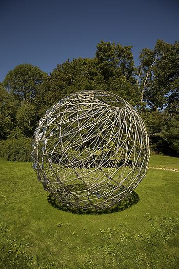 Olafur Eliasson Sunspot sphere 2005 stainless stee...