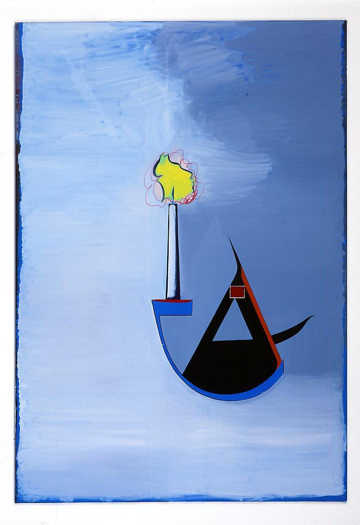 Thomas SCHEIBITZ Ohne Titel (No. 403) 2005 oil, vi...