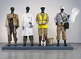 Mark DION Costume Bureau 2006 Mixed media 76 x 135...