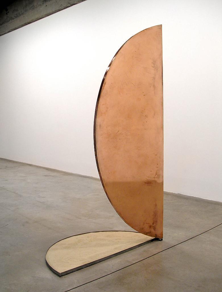 Nicole WERMERS Untitled Forcefield (copper door) 2...