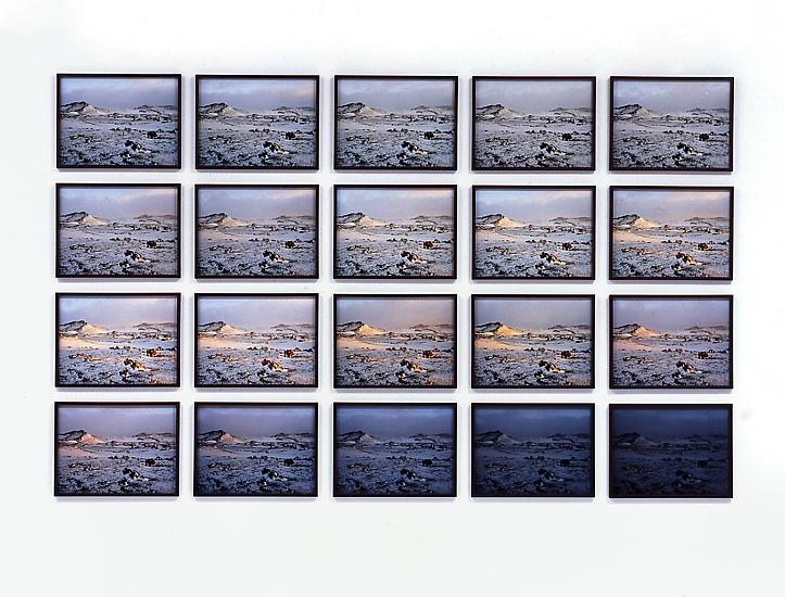 Olafur Eliasson The Hekla twilight series 2006 20...