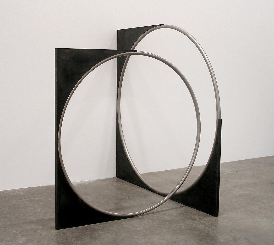 Nicole WERMERS Untitled Forcefield 2006 mild steel...