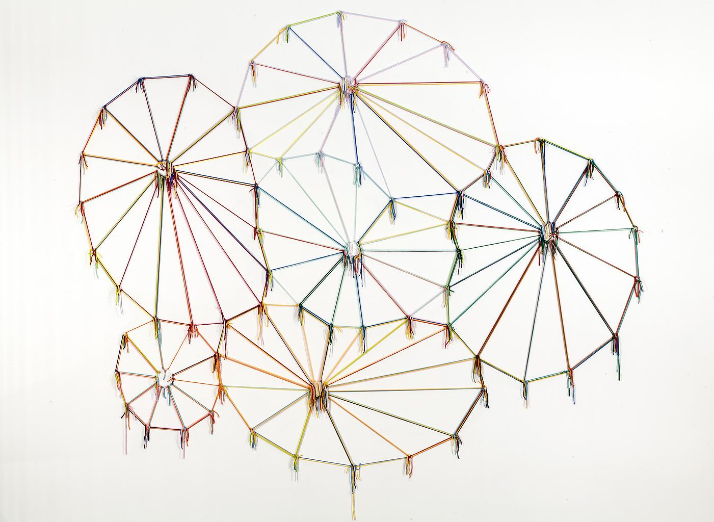 Ernesto NETO Colors, Cultures, Knots and Time 2006...