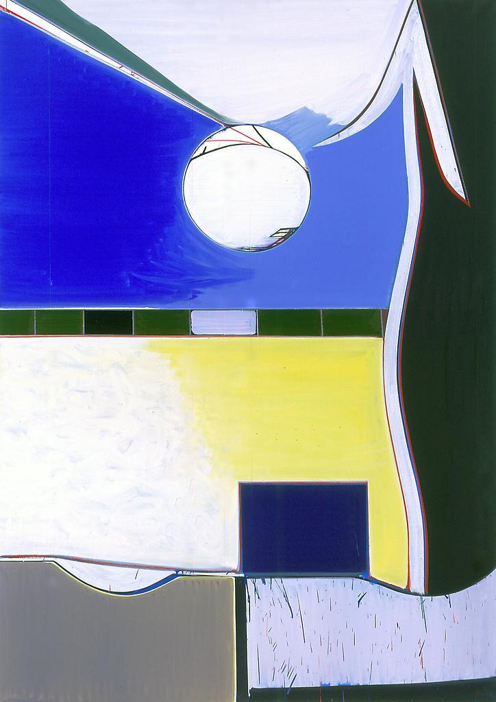 Thomas SCHEIBITZ The Type 2006 oil on canvas 82 x...