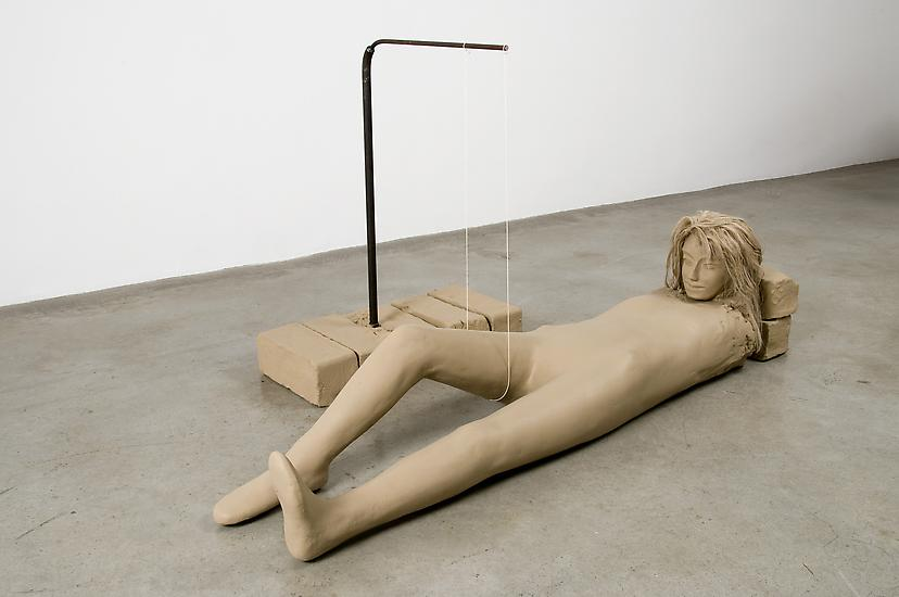 Mark Manders Figure With Thin White Rope 2007-8 pa...