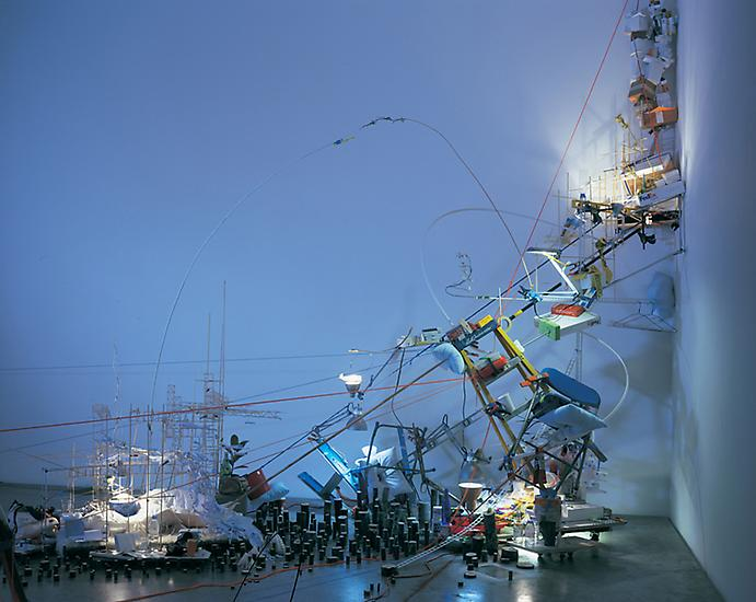 Sarah Sze A Certain Slant 2007 Mixed media dimensi...