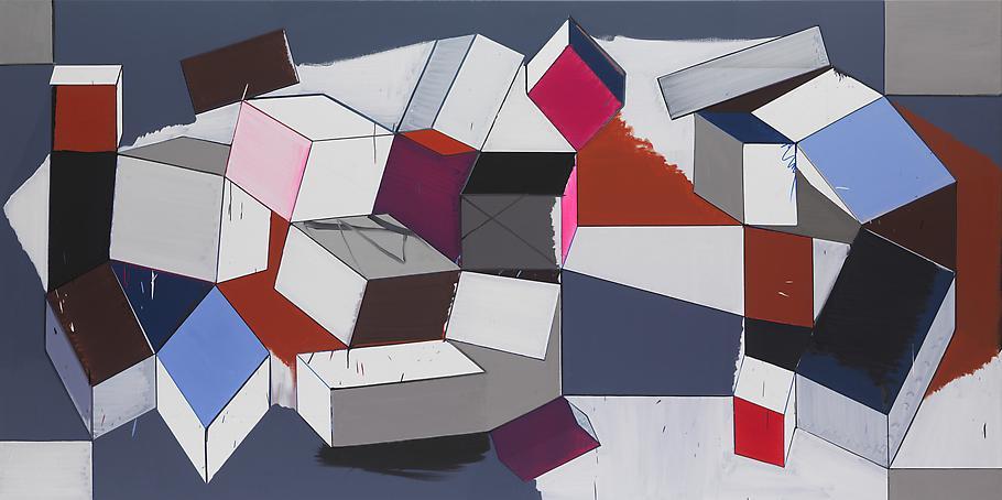Thomas SCHEIBITZ 90 Elements 2007 oil on canvas 71...